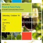 pinot and paint