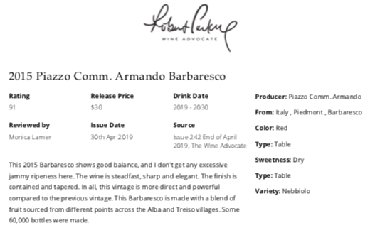 https://www.angeliniwine.com/wp-content/uploads/2019/05/2015-Piazzo-Barbaresco-91-Pt-Rating-by-Robert-ParkerWine-Advocate.png