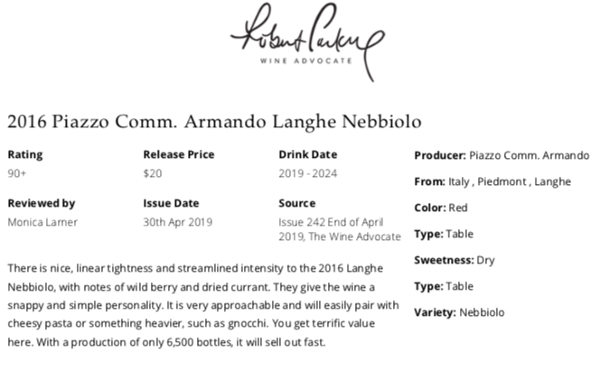 https://www.angeliniwine.com/wp-content/uploads/2019/05/2016-Piazzo-Langhe-Nebbiolo-90-Pt-Rating-by-Robert-ParkerWine-Advocate.png