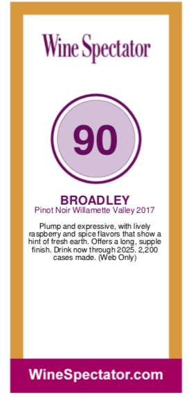 https://www.angeliniwine.com/wp-content/uploads/2019/06/2017-Broadley-Willamette-Valley-PN-90-Pt-Rating-by-Wine-Spectator.png