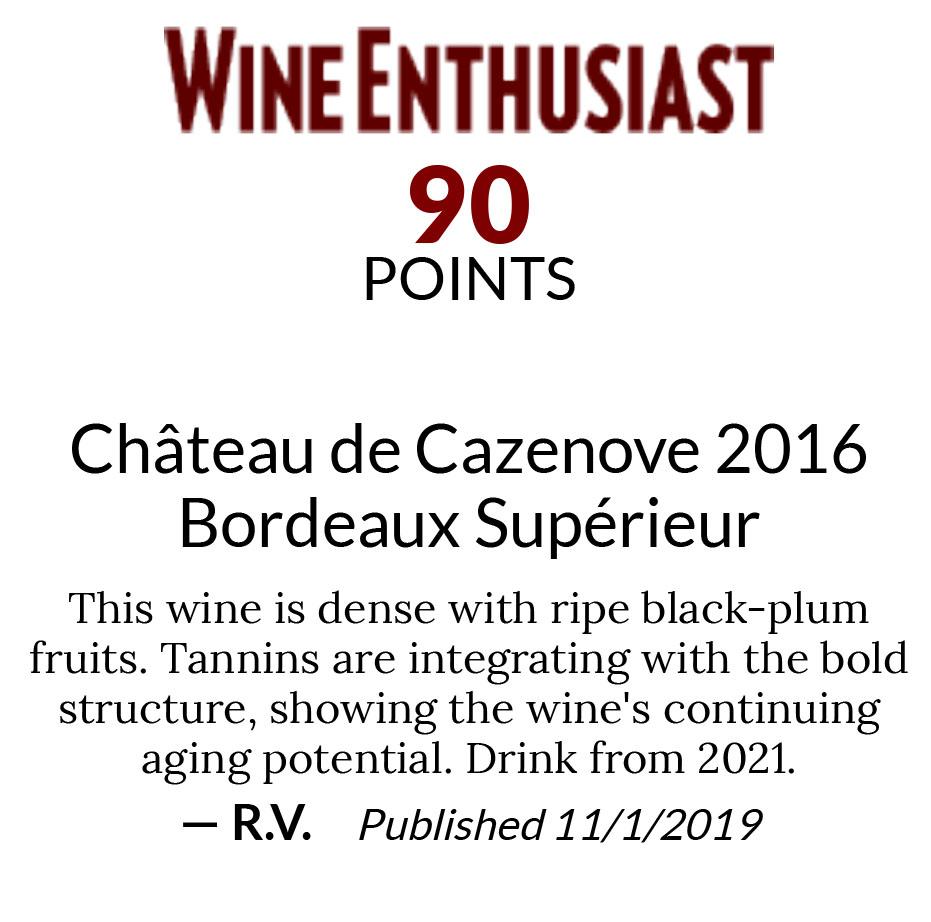 https://www.angeliniwine.com/wp-content/uploads/2021/08/Chateau-de-Cazenove-2016-Bordeaux-Superieur-Shelf-Talkers-Wine-Enthusiast-Buying-Guide-copy.jpg